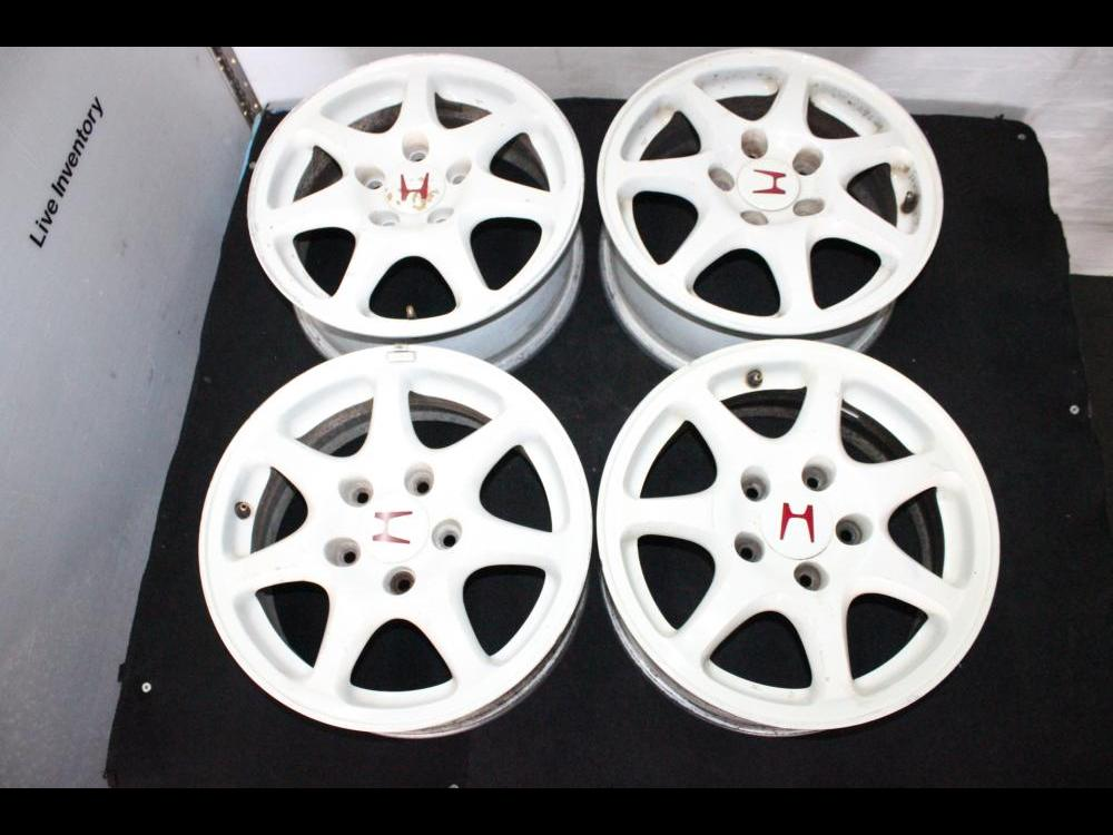 jdm honda integra typer oem 15 inch white 5x114 mag wheel engine land accessories 539 jdm honda integra typer oem 15 inch white 5x114 mag wheel