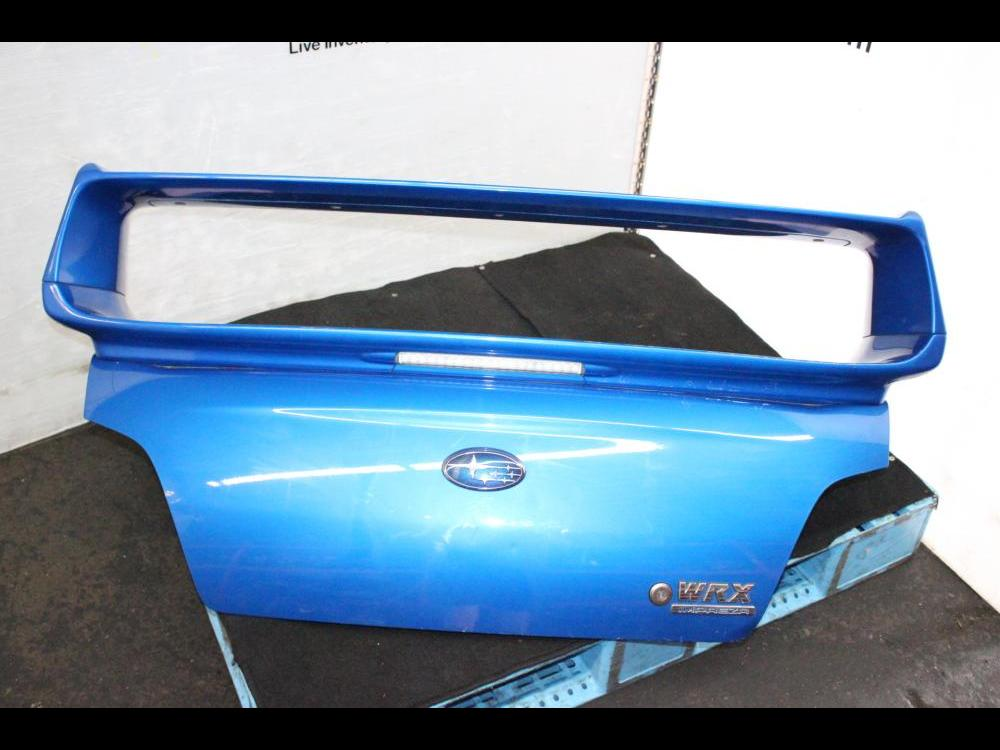 2002 2007 jdm subaru wrx sti spoiler brake light gdb sti spoiler trunk blue engine land accessories 560 2002 2007 jdm subaru wrx sti spoiler brake light gdb sti spoiler trunk blue