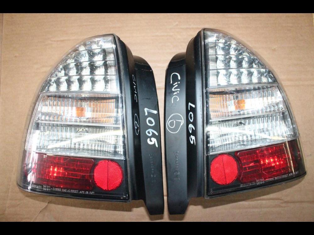 Accessories 748 1996 2000 Honda Civic Sir Jdm Ek4 Led Tail Lights