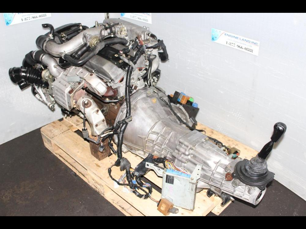 Jdm Nissan Rb25det Series2 Turbo Engine 5speed