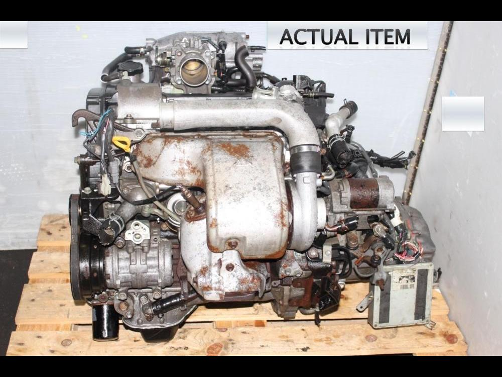 ENGINES #3240 - TOYOTA MR2 3SGTE 3RD GEN ENGINE 5SPEED TRANSMISSION