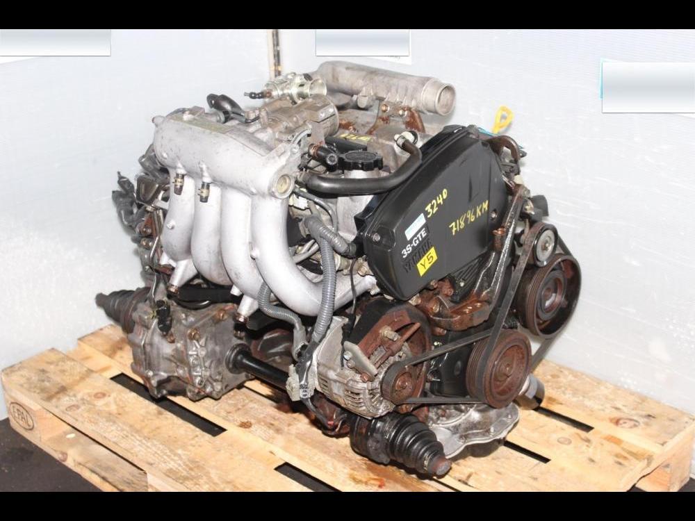 ENGINES #3240 - TOYOTA MR2 3SGTE 3RD GEN ENGINE 5SPEED TRANSMISSION