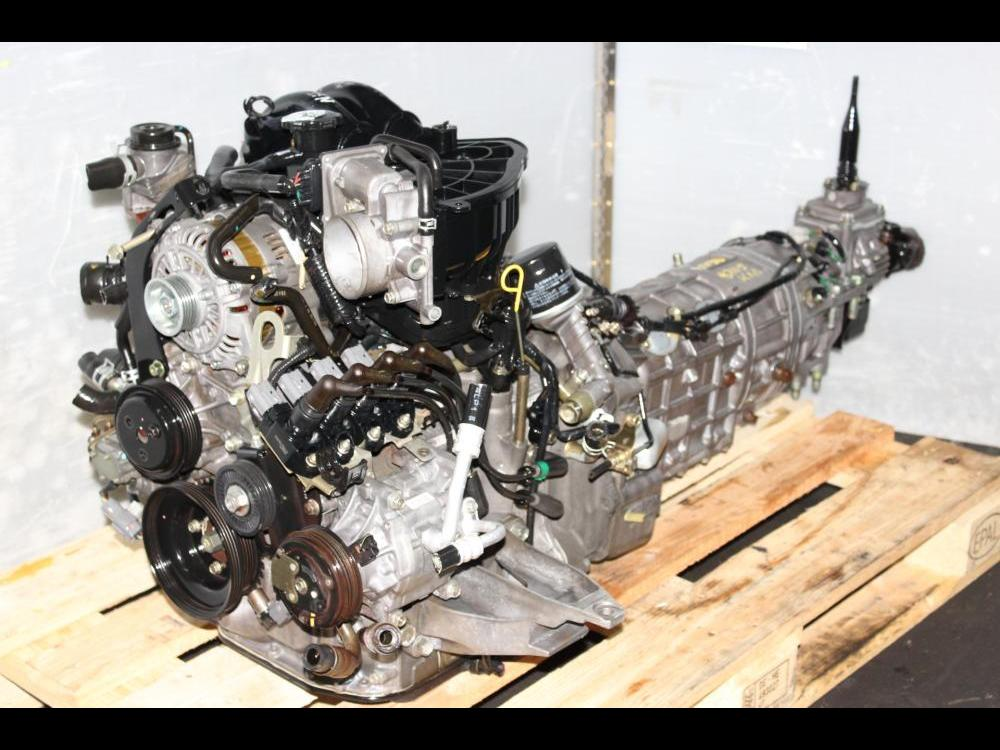 ENGINES #3290 - JDM MAZDA RX8 13B RENESIS ROTARY 4 PORT ENGINE AND 5SPEED  TRANSMISSION