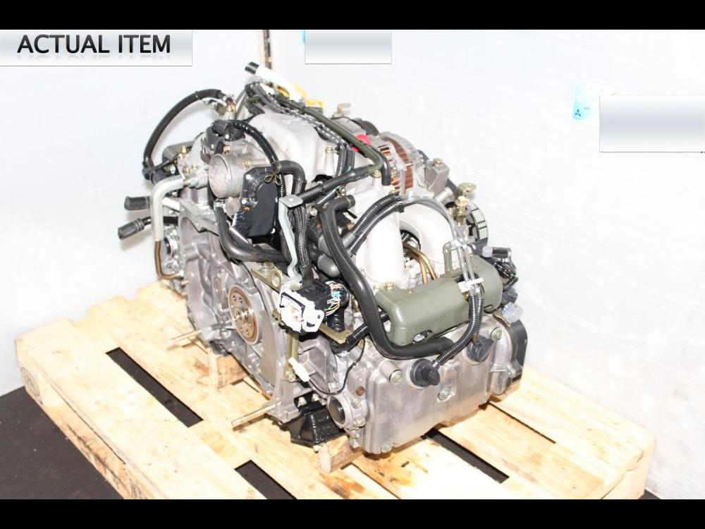ENGINES #3299 - JDM IMPREZA 2004 NA MOTOR EJ203 2 0L REPLACEMENT SWAP FOR  EJ253 2 5L ENGINE
