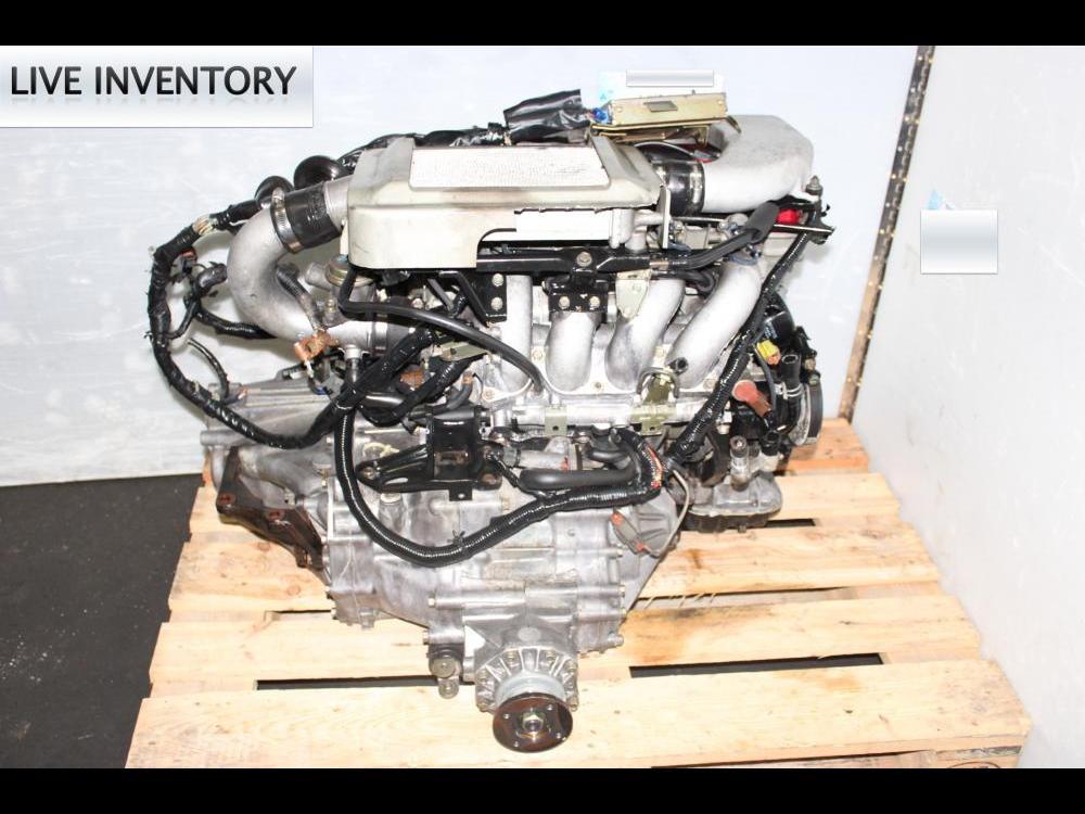 JDM NISSAN BLUE BIRD SR20 TURBO ENGINE AWD MANUAL TRANSMISSION, ECU, WIRING HARNESS | Engine Land