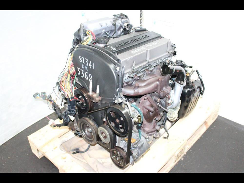 ENGINES #3368 - JDM MITSUBISHI OUTLANDER, AIRTREK 2004-2005 TURBO DOHC 2 0L  ENGINE AND AUTOMATIC AWD TRANSMISSION