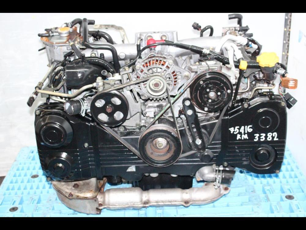 2002 2005 subaru ej205 turbo engine avcs impreza wrx forester baja ej20 for sale engine land. Black Bedroom Furniture Sets. Home Design Ideas