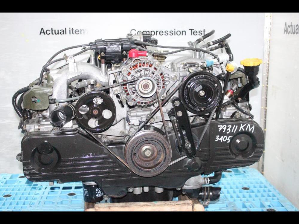 ENGINES #3408 - LEGACY, OUTBACK, IMPREZA JDM EJ20 SOHC 2 0L ENGINE  REPLACEMENT FOR EJ25 SOHC MOTOR