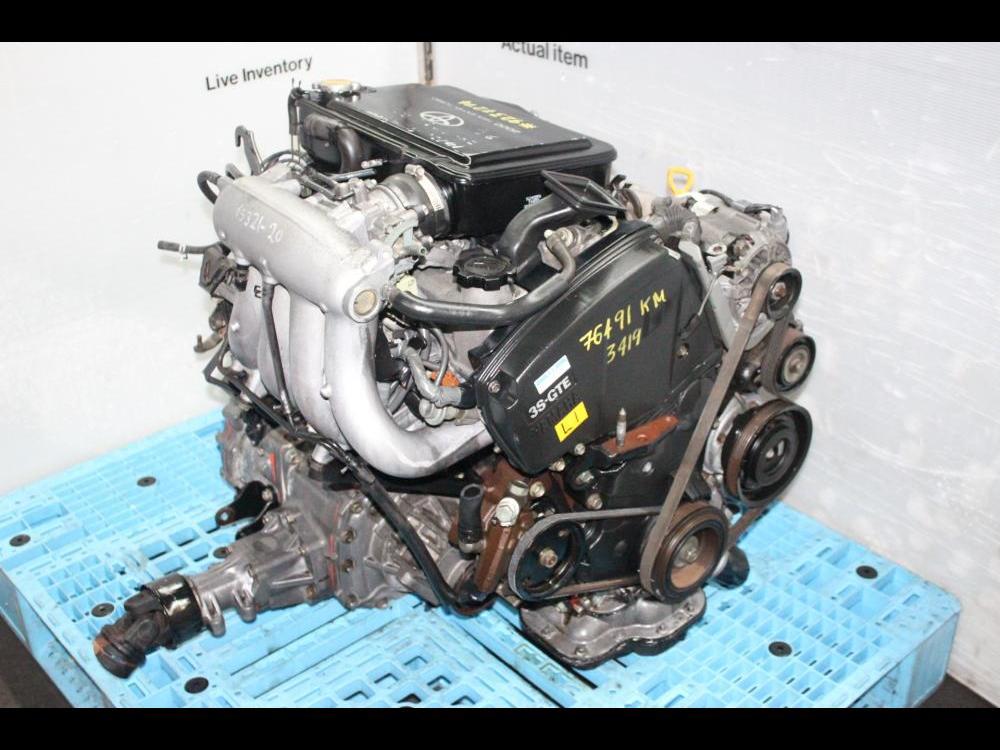 jdm toyota 3sgte turbo engine st205 celica 1994 1999 awd manual rh enginelandinc com 3sgte engine repair manual 3SGTE Engine Block