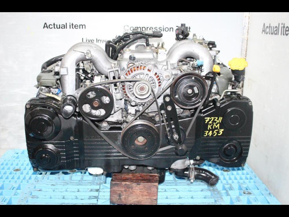 ENGINES #3453 - JDM SUBARU LEGACY, OUTBACK EJ25 2 5L DOHC AVCS ENGINE, JDM  EJ25 MOTOR