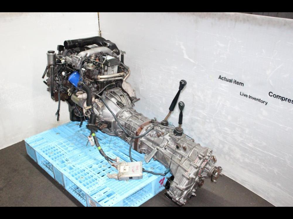 Toyota Land Cruiser Prado 1kz 3 0l Tubro Diesel Moteur Awd