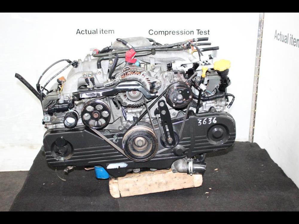 ENGINES #3636 - JDM 2002-2005 SUBARU IMPREZA OUTBACK LEGACY EJ20 2 0L SOHC  ENGINE REPLACEMENT FOR EJ25 MOTOR