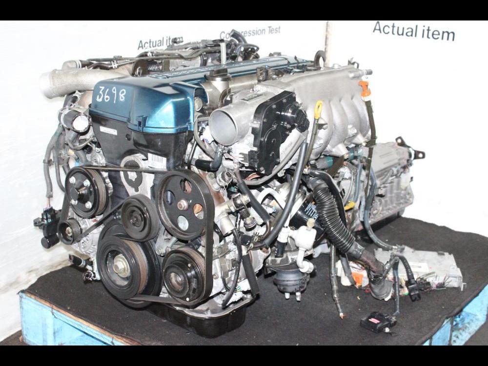 ENGINES #3698 - JDM TOYOTA 2JZ ENGINE VVTI TWIN TURBO ARISTO 2JZ-GTE  AUTOMATIC TRANSMISSION