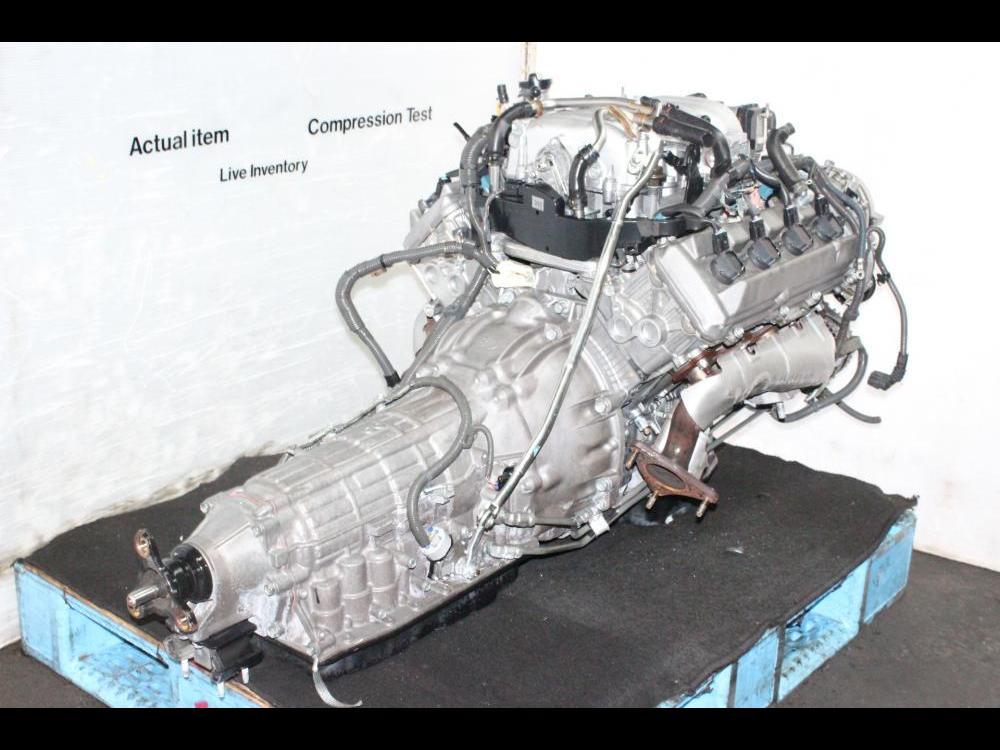 ENGINES #3700 - 2000-2003 TOYOTA LEXUS GS430 LS430 SC430 4 3L V8 VVTI JDM  3UZFE ENGINE AUTOMATIC TRANSMISSION