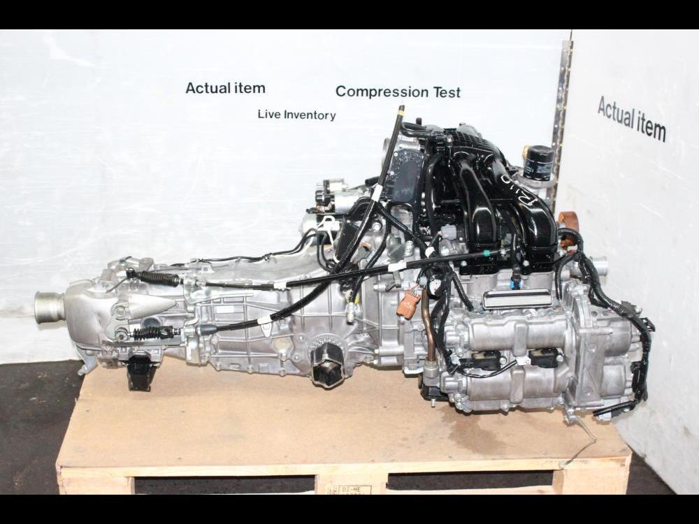 ENGINES #3721 - JDM SUBARU IMPREZA XV CROSSTREK FB20 MOTOR 2 0L DOHC DUAL  AVCS 2012-2014 ENGINE