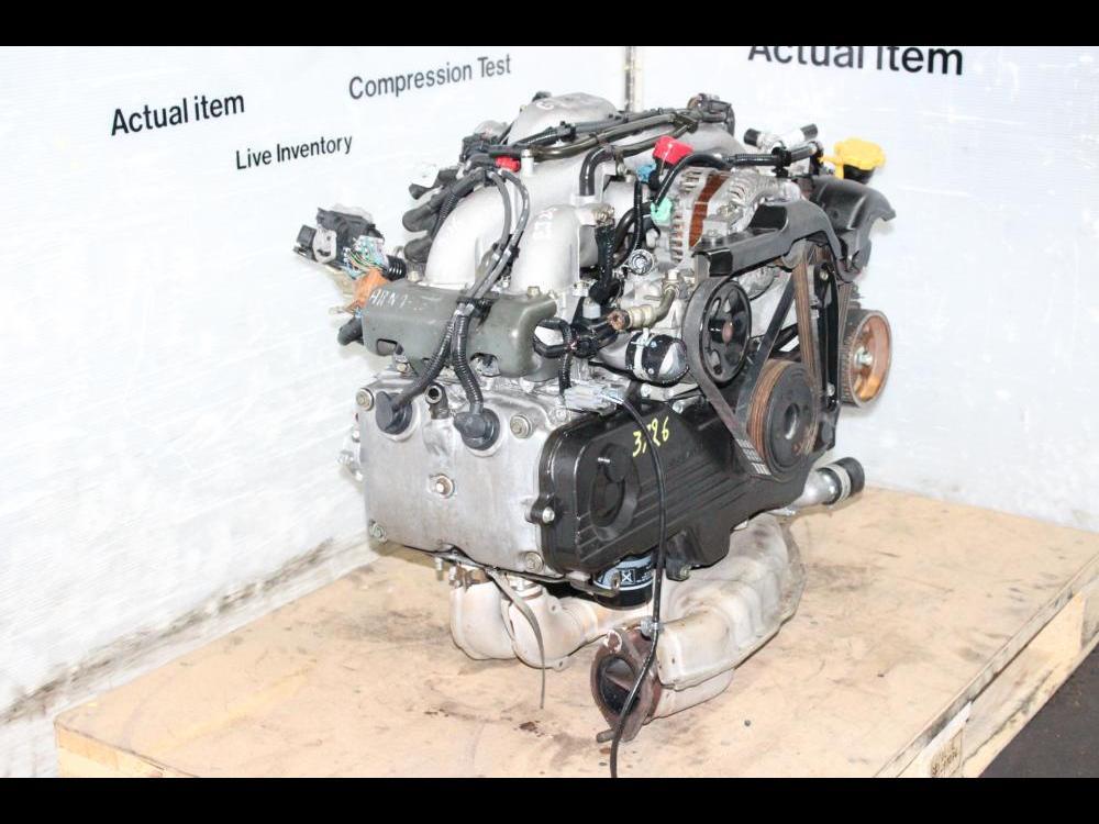 ENGINES #3726 - SUBARU 2002-2005 EJ25 2 5L SOHC MOTOR LEGACY IMPREZA  OUTBACK EJ253 SWAP
