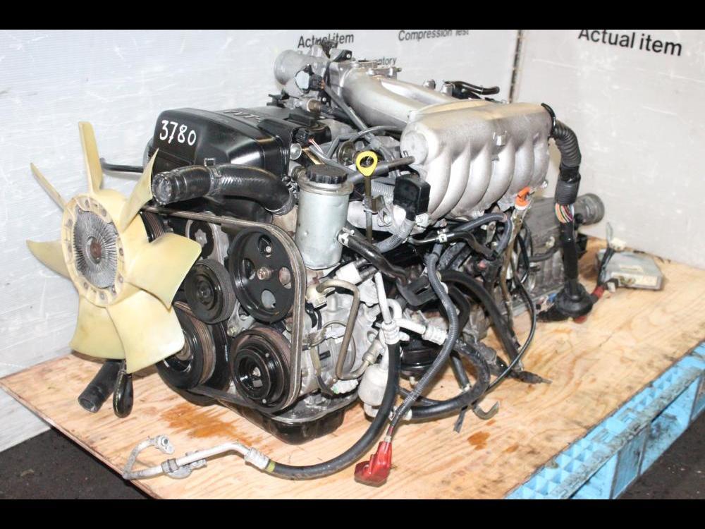 ENGINES #3780 - TOYOTA CHASER JDM 1JZ VVTI 2 5L NA ENGINE RWD AUTOAMTIC  TRANSMISSION 1JZ-GE VVTI