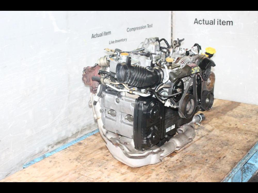 ENGINES #3792 - SUBARU WRX JDM EJ20 2 0L QUAD CAM TURBO ENGINE EJ205  2002-2005