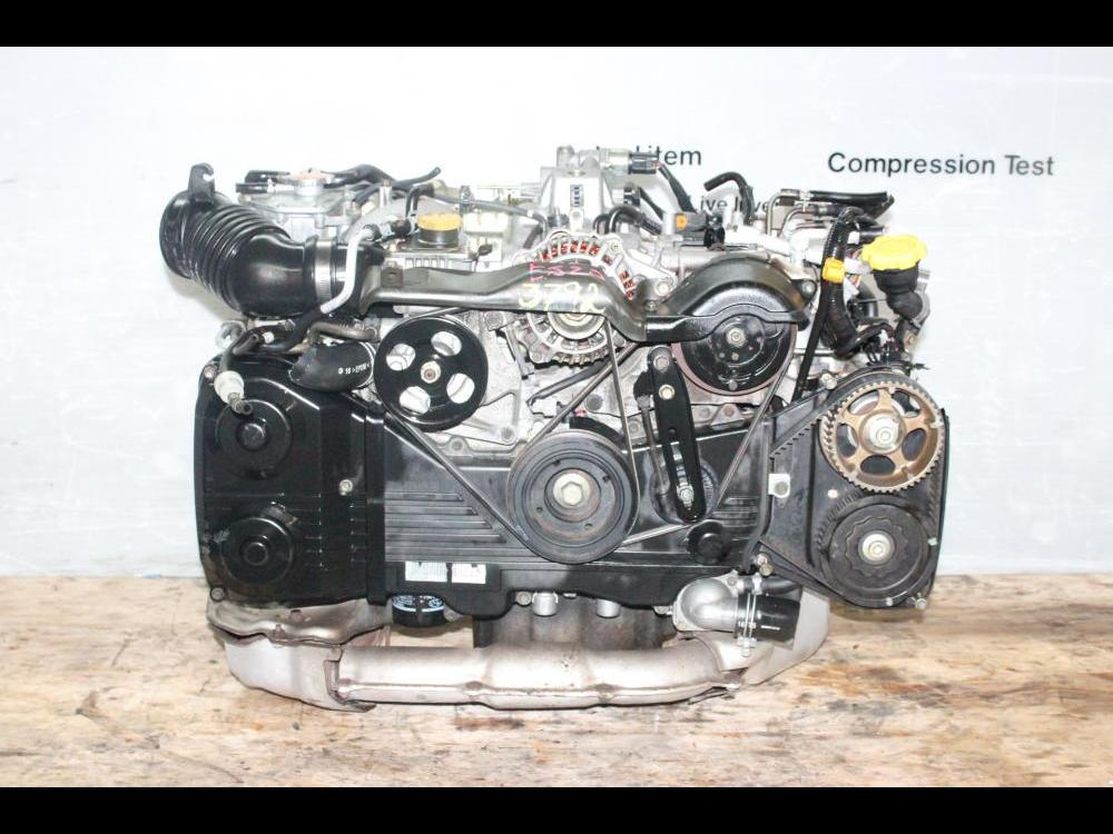 ENGINES #3792 - SUBARU WRX JDM EJ20 2 0L QUAD CAM TURBO ENGINE EJ205  2002-2005