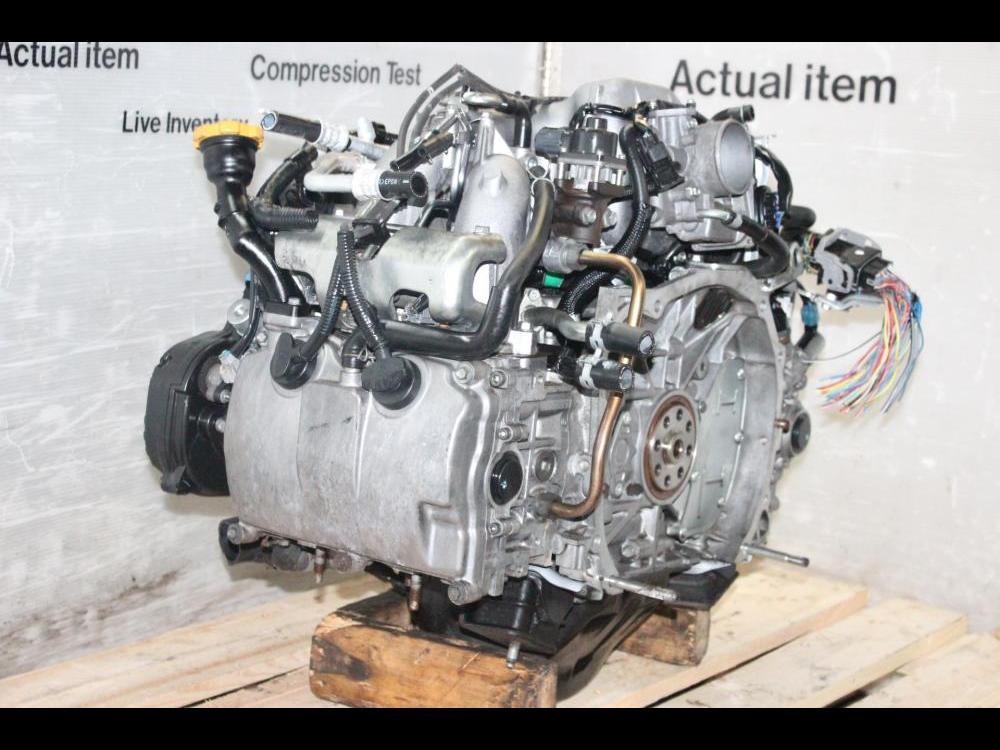 ENGINES #3823 - 2006-2010 SUBARU EJ25 ENGINE AVCS SOHC IMPREZA FORESTER  LEGACY 2 5L JDM