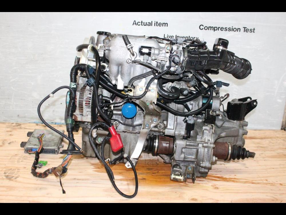 ENGINES #3837 - JDM 1996-2000 HONDA CIVIC D15B DUAL STAGE VTEC MOTOR on
