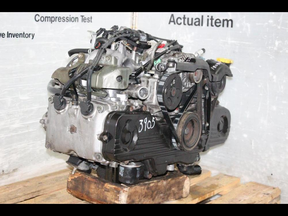ENGINES #3905 - SUBARU SOHC NA EJ201, EJ202,EJ203 MOTOR LONG BLOCK  REPLACEMENT FOR EJ25 2 5L USDM FORESTER 1999-2002 NON TURBO