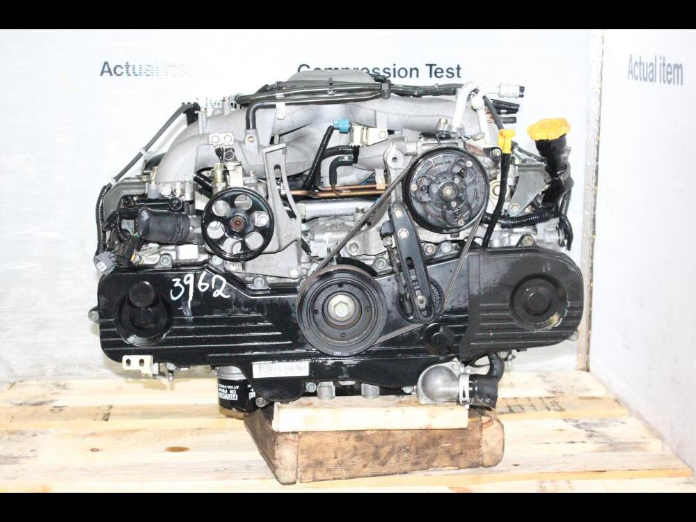 ENGINES #3962 - 2002-2005 JDM EJ20 2 0L SOHC ENGINE REPLACEMENT FOR EJ25  2 5L SOHC MOTOR, SUBARU LEGACY, OUTBACK, IMPREZA