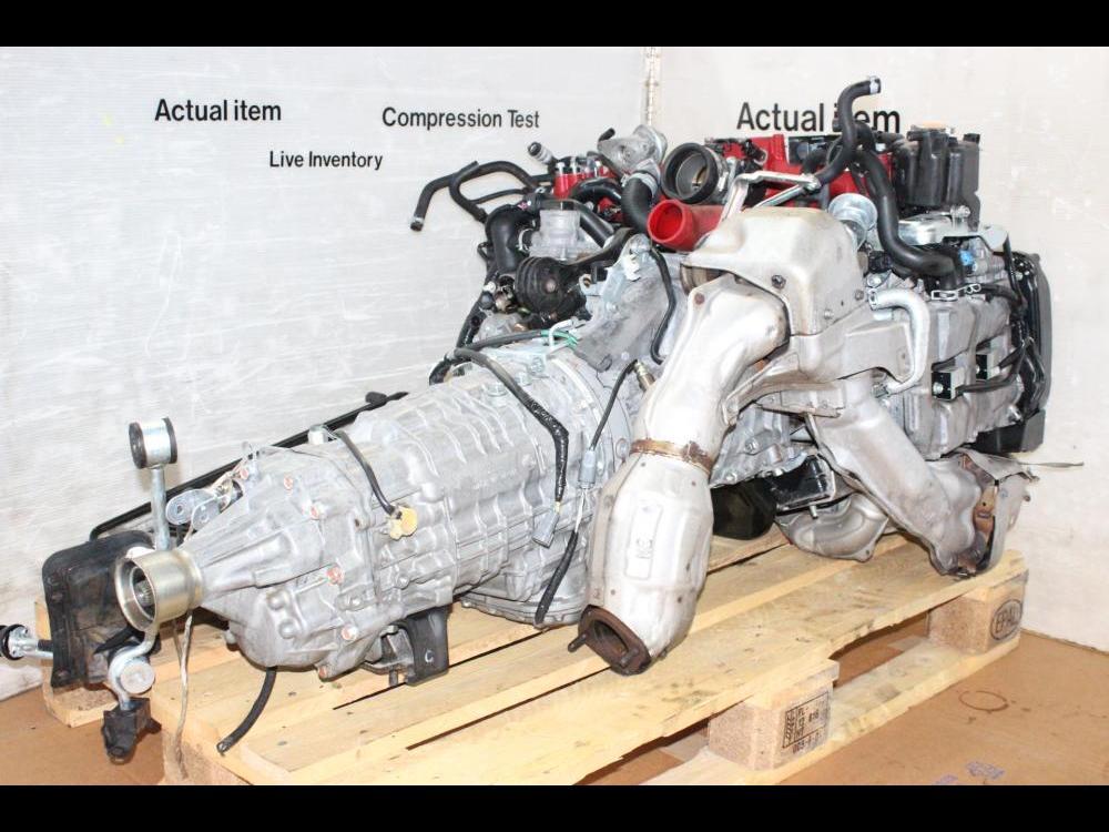 ENGINES #4020 - 2008-2010 JDM SUBARU EJ207 STI ENGINE AND 6SPEED  TRANSMISSION VERSION 10 EJ20