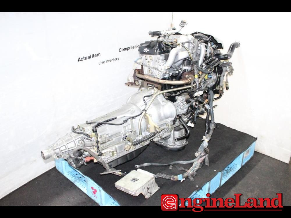 Jdm Nissan Zd30 Diesel Turbo Engine Automatic Transmission
