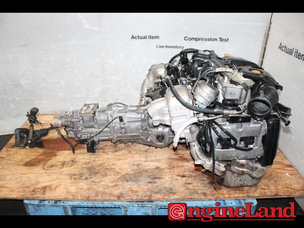 Details about JDM SUBARU LEGACY EJ208 TWIN TURBO MOTOR BH EJ20 2 0L MANUAL  AWD TRANSMISSION