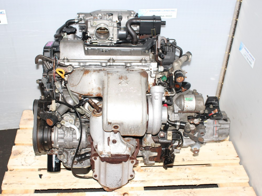 TOYOTA MR2 3SGTE 3RD GEN TURBO ENGINE 5SPEED TRANSMISSION
