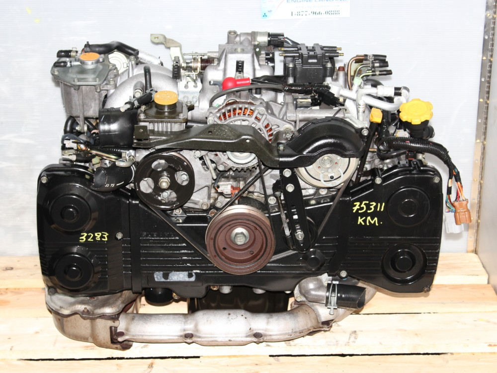 SUBARU WRX EJ20 DOHC TURBO MOTOR JDM EJ205 TURBO ENGINE