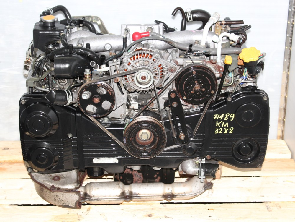 Used Wrx Ej205 Jdm Dohc Turbo Avcs Motor Complete Package For 2004 2005 Engine Land