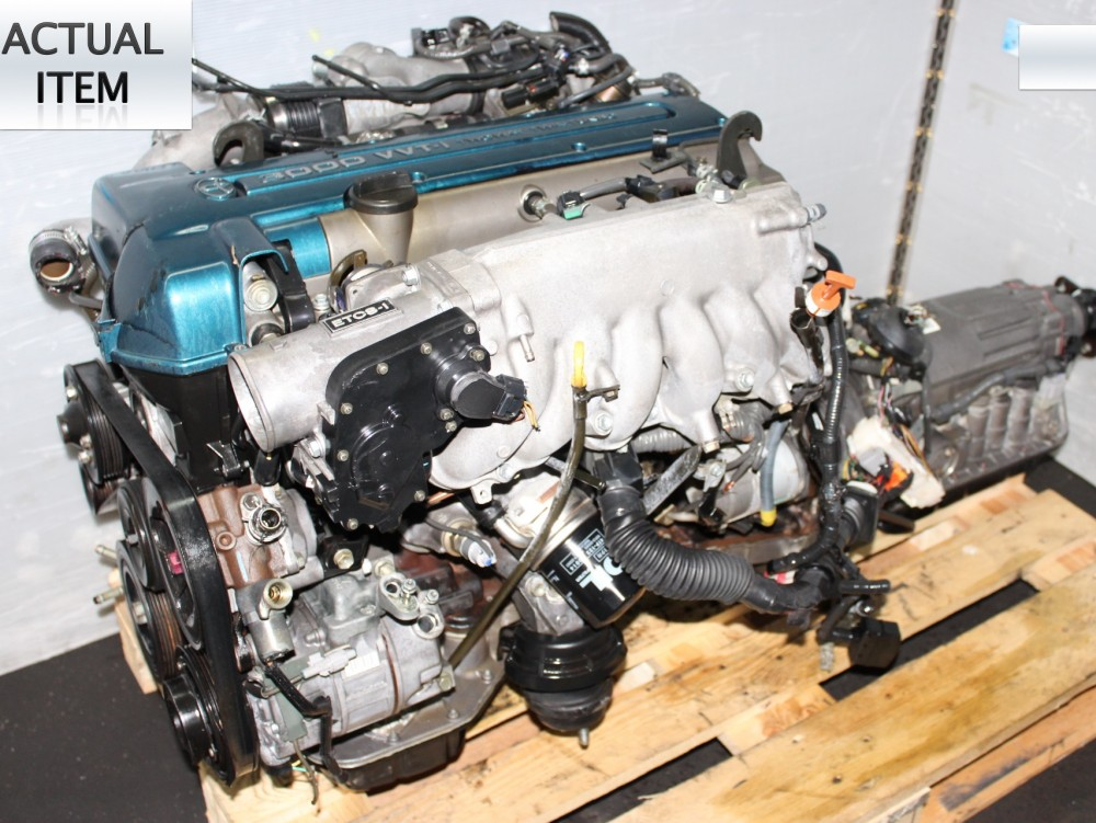 USED JDM 2JZ-GTE MOTOR, TOYOTA 2JZ VVTI TWIN TURBO ENGINE