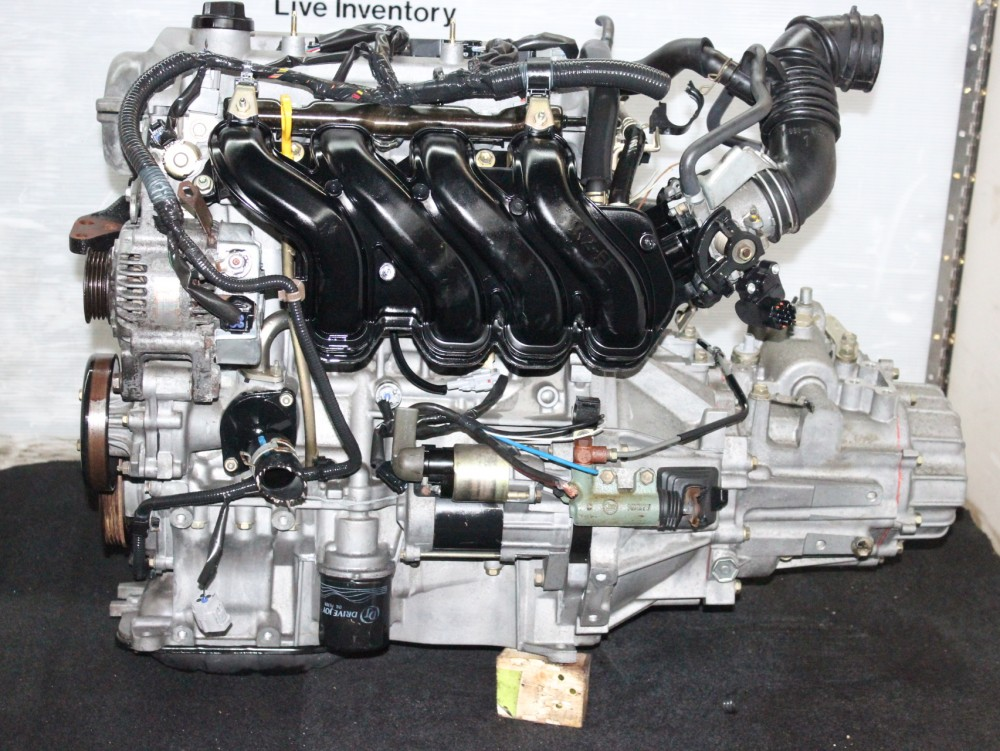 TOYOTA YARIS ECHO 2000-2005 JDM 1NZ VVTI 1 5L MOTOT MANUAL TRANSMISSION