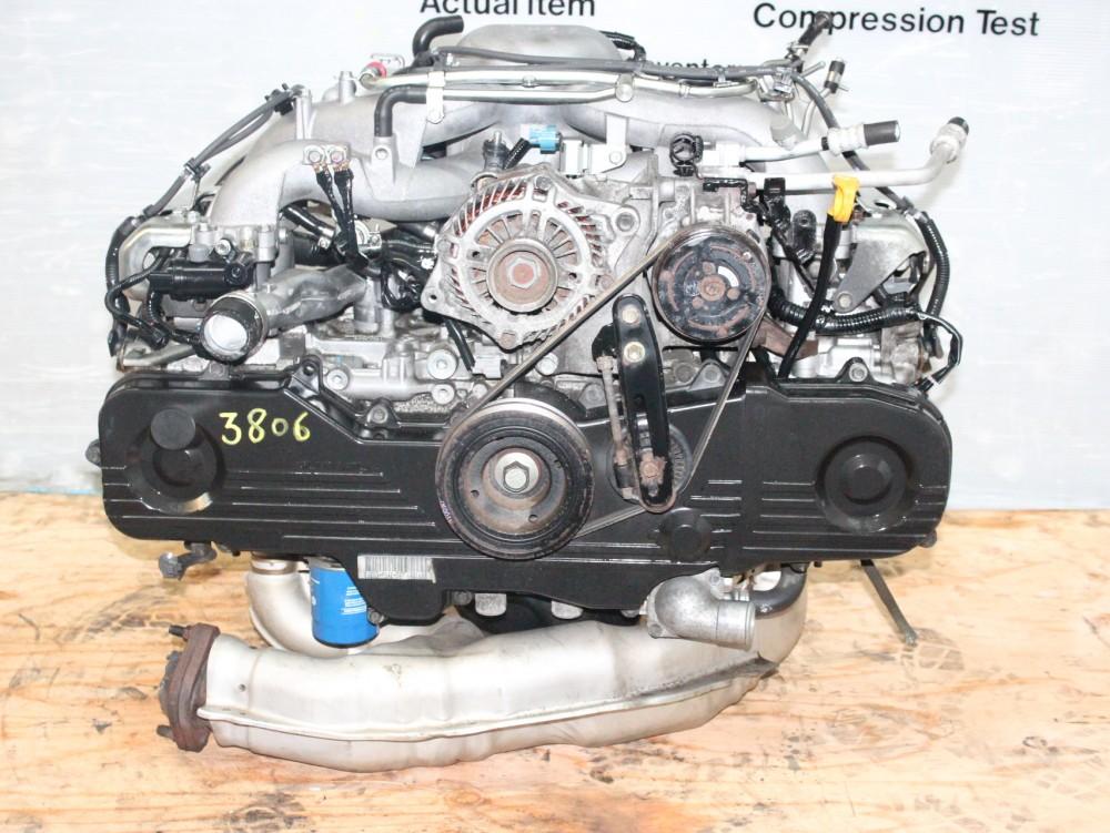 JDM 00-05 SUBARU IMPREZA, FORESTER, LEGACY EJ20 SOHC 2 0L ENGINE  REPLACEMENT FOR EJ25