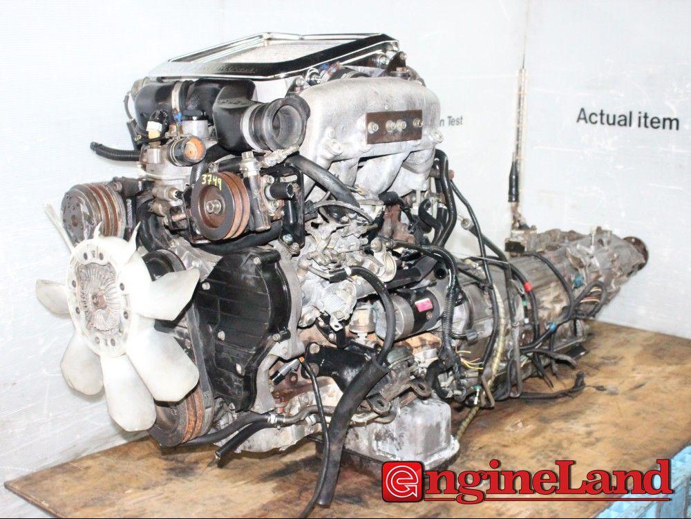 Isuzu Trooper 4jg2 3 1l Turbo Diesel Motor Awd Automatic Transmission Ebay