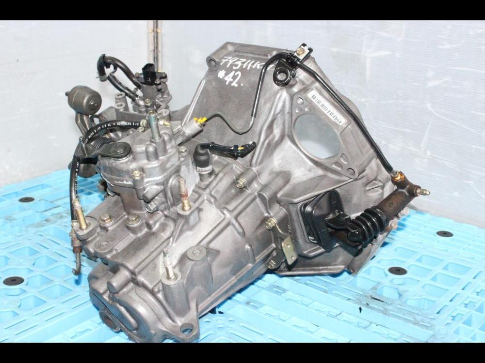 on an tranny h22 motor B16